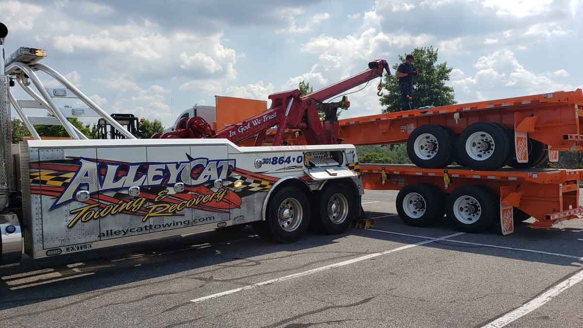 Wash DC Heavy Truck Recovery | Heavy Recovery I-495, I-95, US-1, US-50